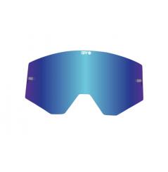 Écran de rechange SPY fumé/Spectra™ bleu foncé anti-buée pour masque SPY Ace