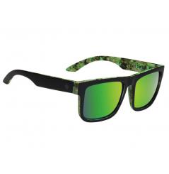Lunettes de soleil SPY Discord Kush Walls noir/vert verres gris/Spectra™ vert