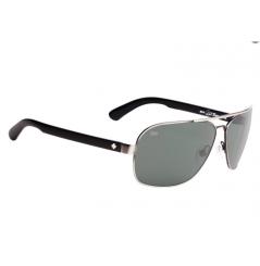 Lunettes de soleil SPY Showtime McGrath argent ancien/noir verres Happy Lens™ gris /vert arctique