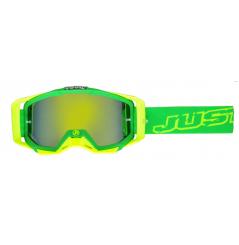 Masque JUST1 Iris Neon vert/jaune