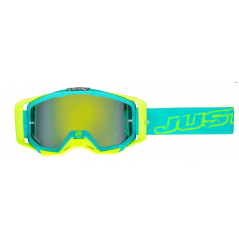 Masque JUST1 Iris Neon bleu/jaune