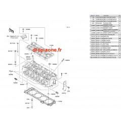 Culasse Ultra 250-X 08/ Ultra 260-X 09-10