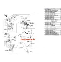 Filtre à air Ultra 250-X 07
