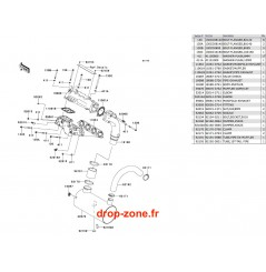 Echappement Ultra 250-X 08/ Ultra 260-X 09-10