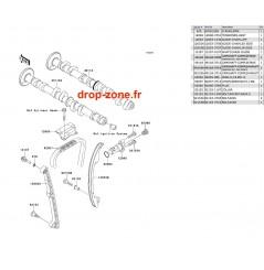 Arbres à cames Ultra 260-X 09-10