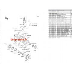Vilebrequin Ultra 250-X 07-08/ Ultra 260-X 09-10