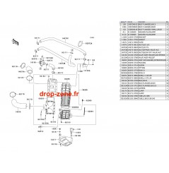 Intercooler Ultra 250-X 07-08/ Ultra 260-X 09-10