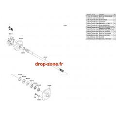 Transmission Ultra 250-X 07-08/ Ultra 260-X 09-10