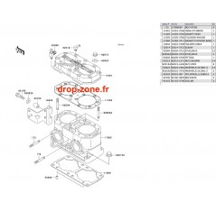 Cylindre SX-R-800 04-11/ X2-R 07