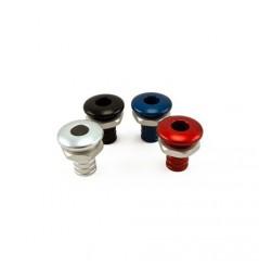 Sortie de pompe de cale UMI droite en noire ou alu pour durite 3/4'' (19mm)