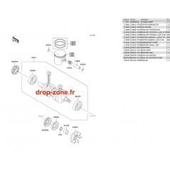Vilebrequin/ Pistons SX-R 800 03-11/ X2-R 07