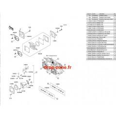 Pièces carburateur SX-R 800 03-11/ X2-R 800 07