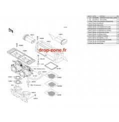 Filtre à air SX-R 800 03-11/ X2-R 800 07