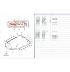 Tapis/ Listons FX SVHO Cruiser 14