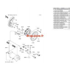 Générateur SX-R 800 04-11/ X2-R 800 07