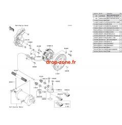 Générateur SX-R 800 03/ SXI PRO 00-02/ SXI 750