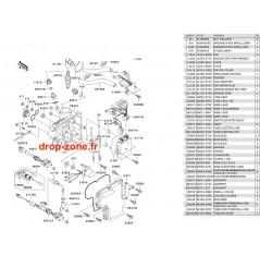 Système d'allumage SX-R 800 04-11/ X2-R 07