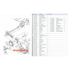 Plaque/ écope/ turbine VX Sport 14/ VX Cruiser 14/ VX Deluxe 14