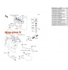 Refroidissement SX-R 800 04-11