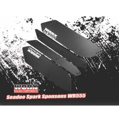 SPONSONS ARRIÈRE WORX INSERT EDITION POUR SEADOO SPARK