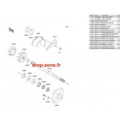 Transmission SX-R 800 03-11/ X2-R 07