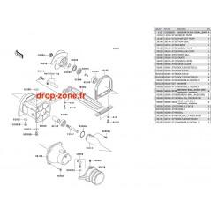 Turbine SX-R 800 03-11/ X2-R 800 07