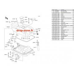 Capot moteur SX-R 800 11