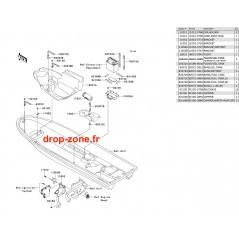 Pièces de coque SX-R 800 03-11