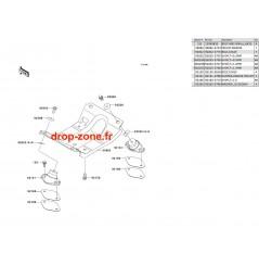Support moteur SX-R 800 03-11/ X2-R 800 07/ SXI PRO 00-02