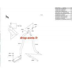 Système de cale SX-R 800 03-11