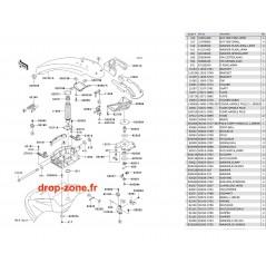 Bras SX-R 800 11