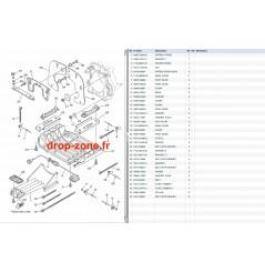 Plaque/ écope FZR-FZS SHO 09-13