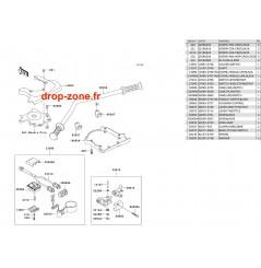 Guidon SX-R 800 03-11