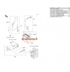 Equipement électrique X2-R 800 07