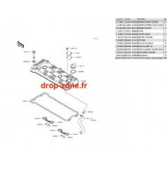 Couvre-culasse STX-15F 12-17/ Ultra LX 12-17/ Ultra 310-R/ Ultra 310-X/ Ultra 310 LX 14-18/ Ultra 300 11-13/ Ultra 300 LX 11-13