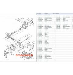 Plaque/ écope/ turbine VX Sport 10-13/ VX Cruiser 10-13/ VX Deluxe 10-13