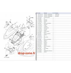 Capot VX Cruiser 13/ VX Deluxe 13