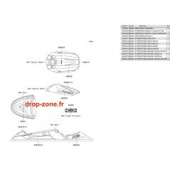 Stickers X2-R 800 07