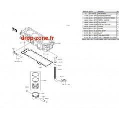 Cylindre/ Pistons STX-15F 08-17/Ultra LX 12-17/ SX-R 1500 17