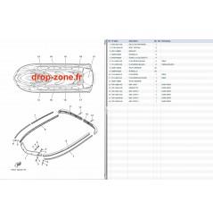 Tapis/ listons VX Sport 12-13/ VX Cruiser 12-13/ VX Deluxe 12-13/ VXS 13