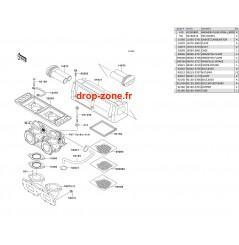 Filtre à air SXI PRO 750 00-02/ SXI 96-97