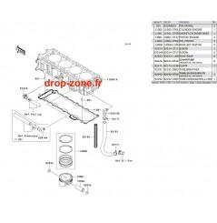Cylindre/ Pistons STX 15-F 04-07/ Ultra LX 08