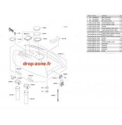 Capot moteur SXI PRO 00-02