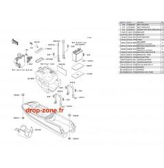 Pièces de coque SXI 750