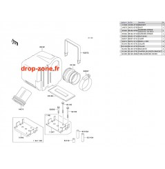 Filtre à air SX 750