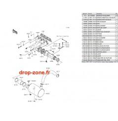 Echappement STX-15F 09-17 / Ultra LX 09-17