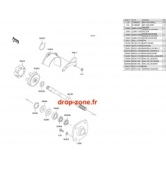 Transmission SX 750
