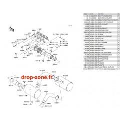 Echappement STX-15F 04-08/ STX-12F