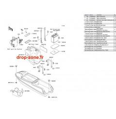 Pièces de coque SX 750