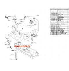 Réservoir SX 750